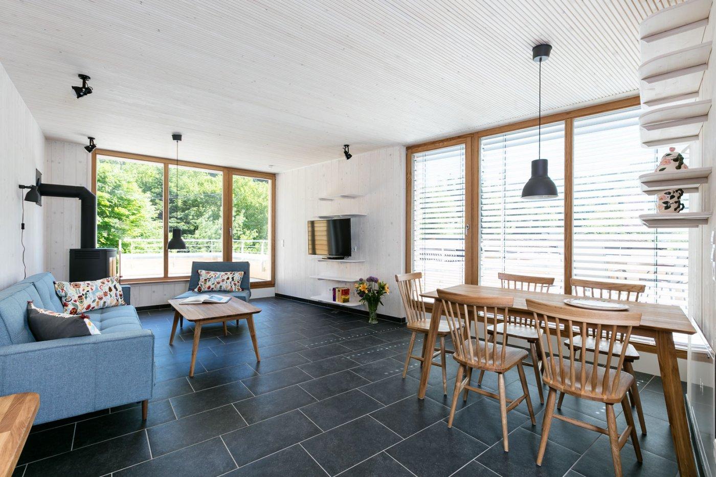 Wohnzimmer im Haus Schwarzwaldstrand