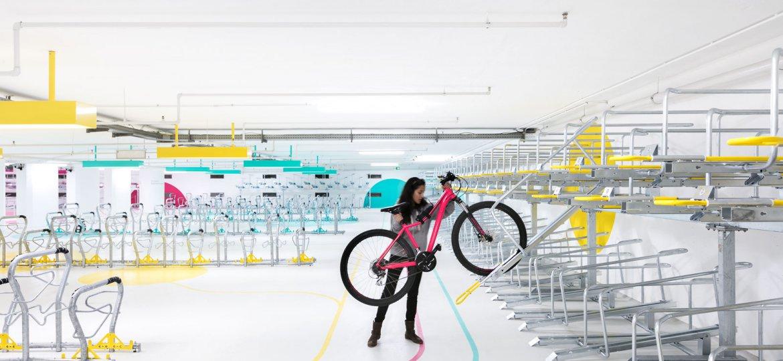 Fahrradstation Süd Hbf Karlsruhe