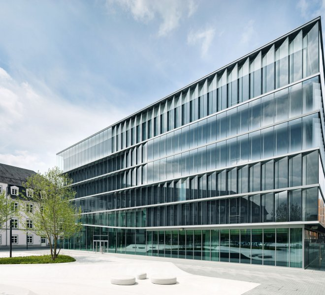 Merck Innovationszentrum in Darmstadt
