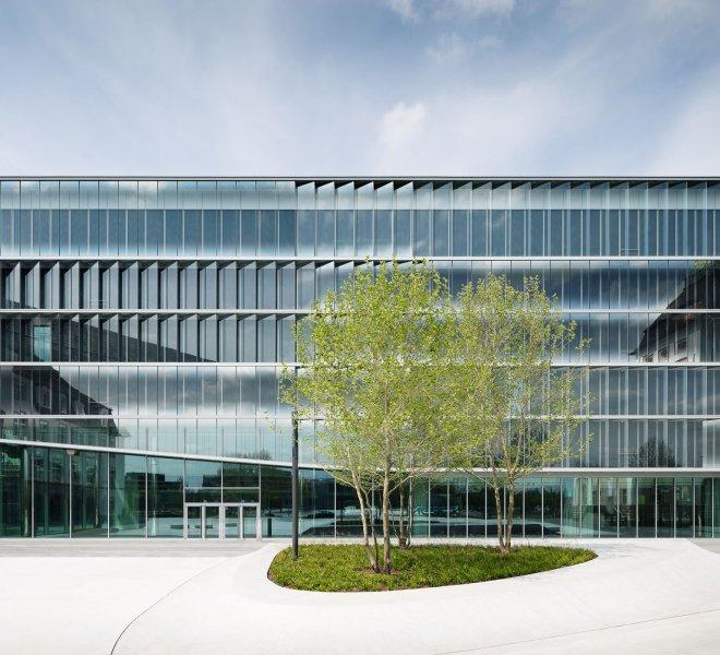 Neubau von Merck Innovation Center in Darmstadt