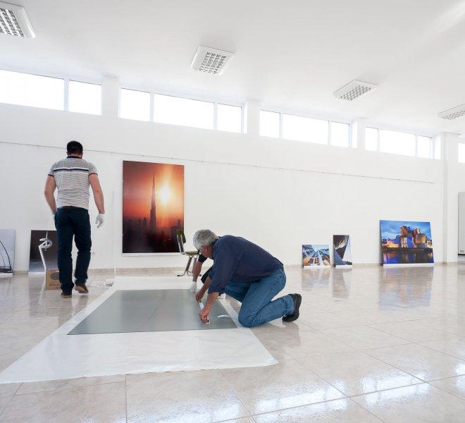 Ausstellung in Gabrovo von Nikolay Kazakov