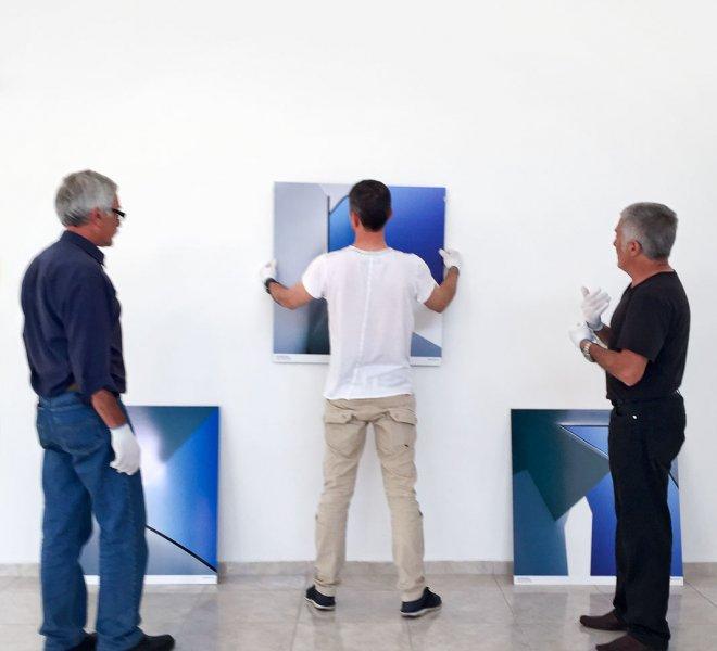 Ausstellung von Nikolay Kazakov