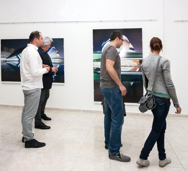 Ausstellung in Gabrovo - Architekturfotografie