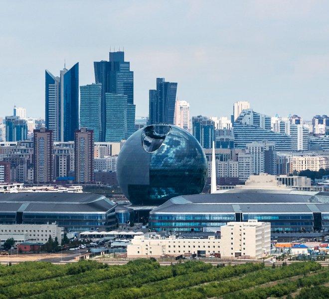 EXPO 2017 in Astana - Kasachstan Pavilion