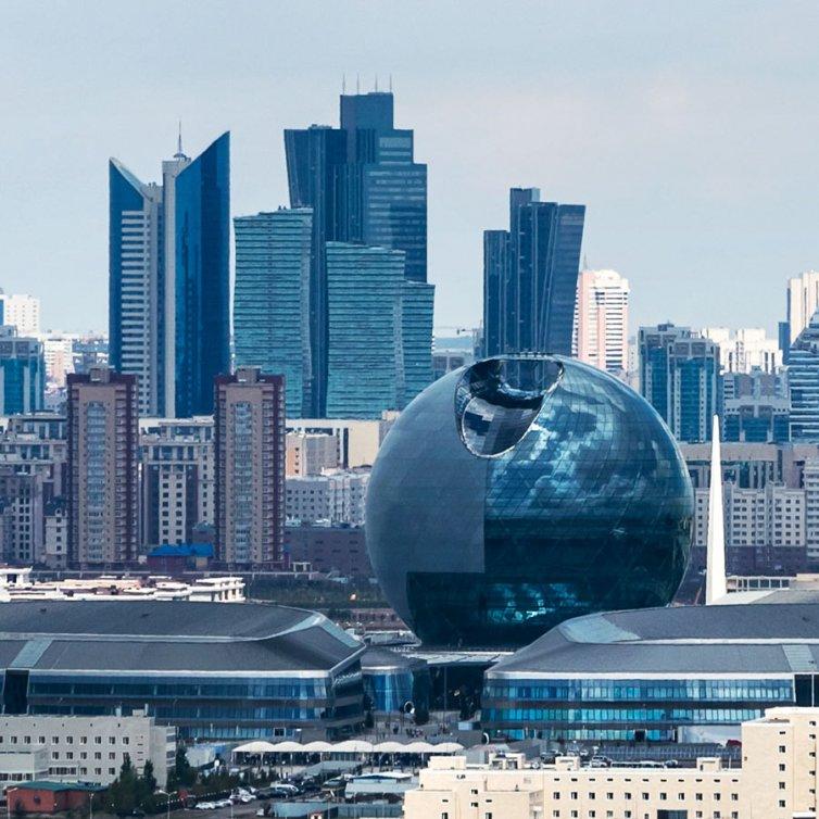 Kazakhstan Pavillon