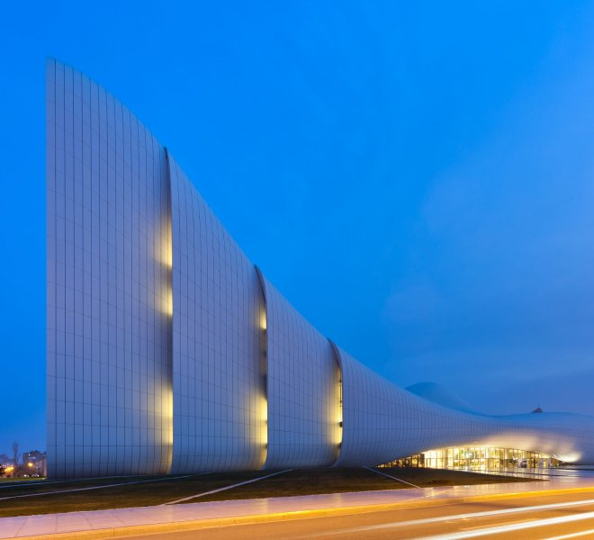 Heydar Aliyev Center, Baku