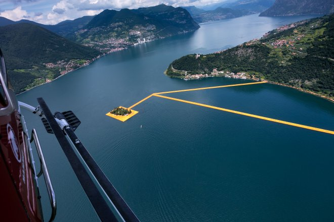 The Floating Piers, Lago d'Iseo