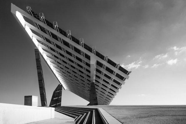 Esplanade Solar Panels Barcelona