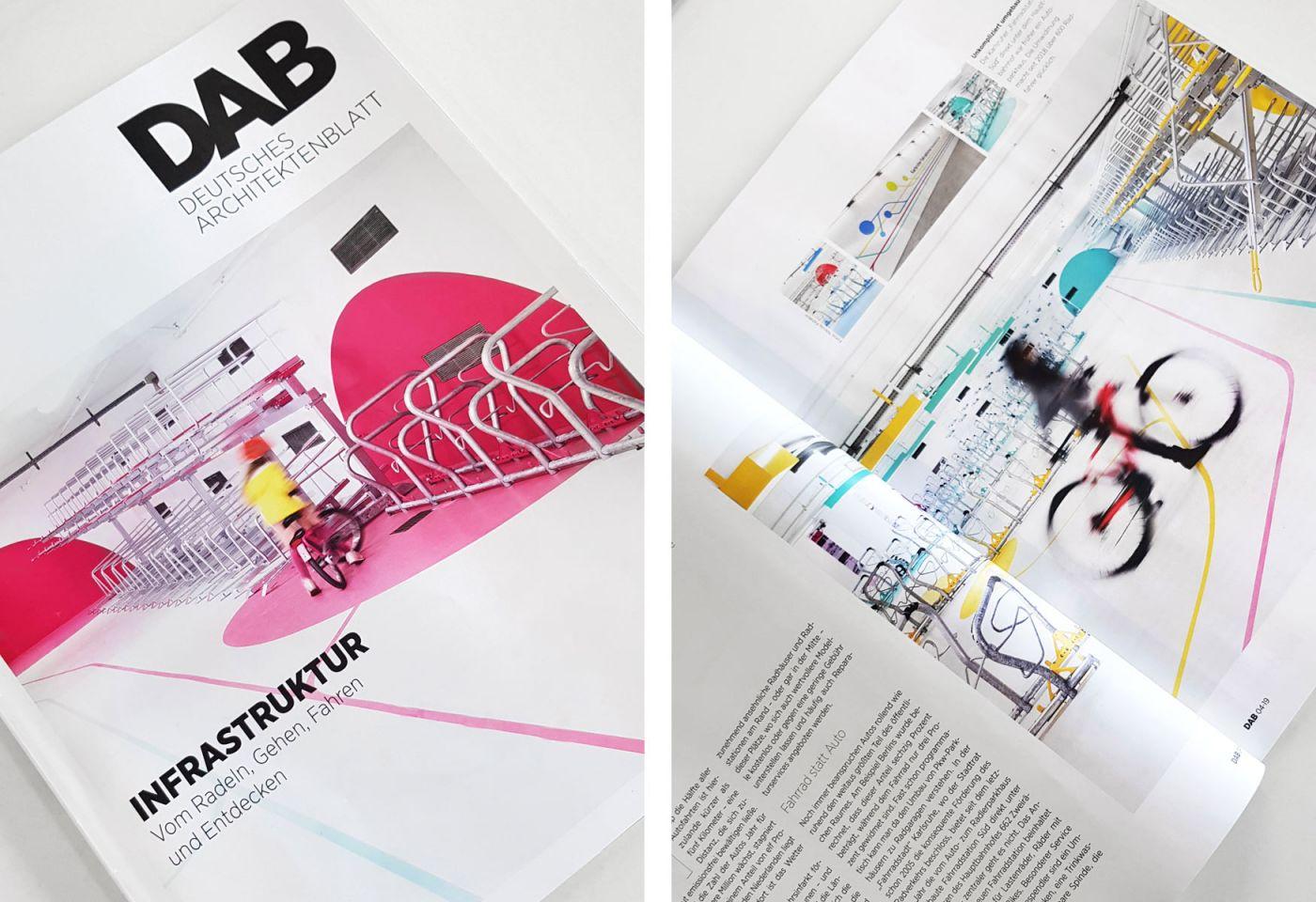 DAB Deutsches Architektenblatt 2019 - Fahrradstation Hauptbahnhof Karlsruhe