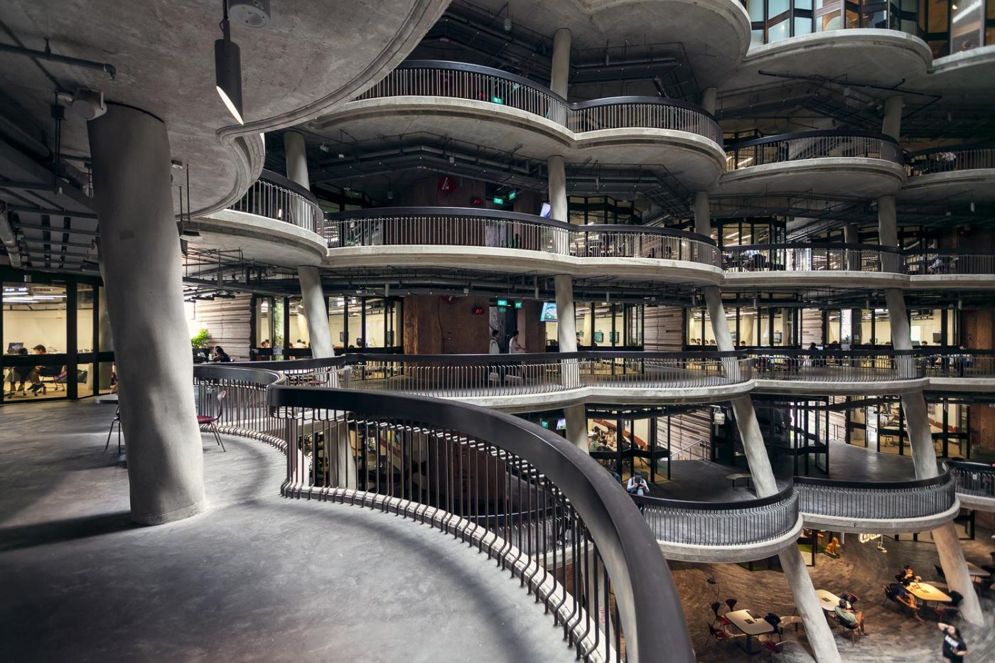 Inside the Learning Hub by Heatherwick Studio