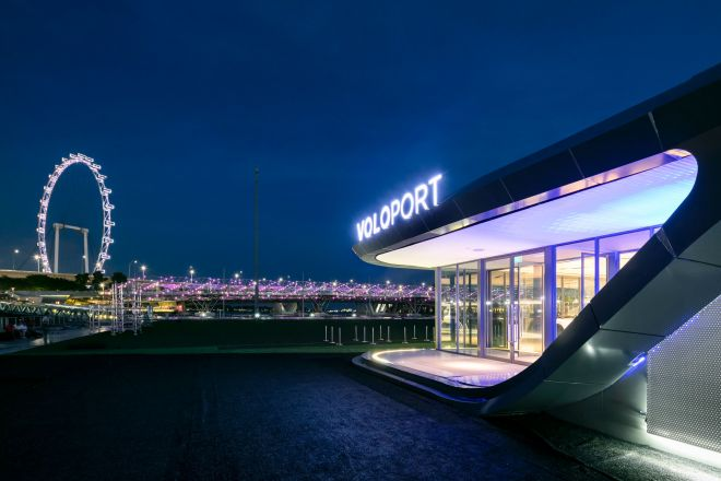 VoloPort in Singapur