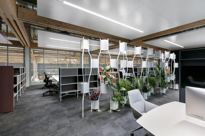 Brunner Innovation Factory - Grossraumbüro