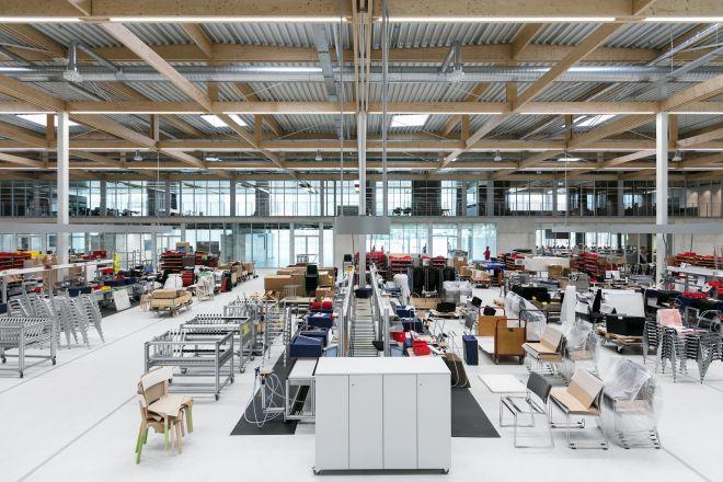 Brunner Innovation Factory - Produktionshalle