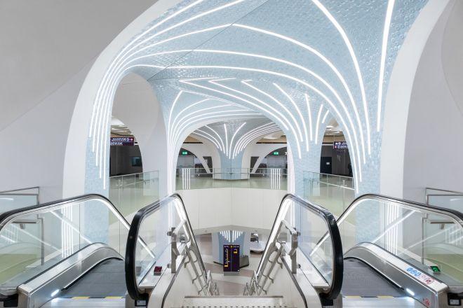 Doha Metro Escalator
