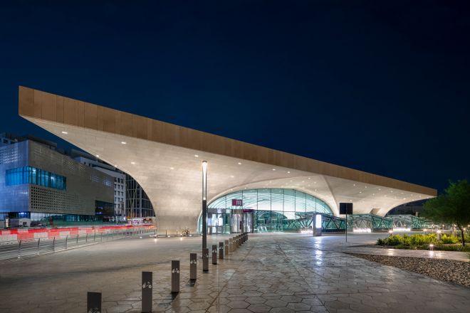 Doha Metro Station Msheireb