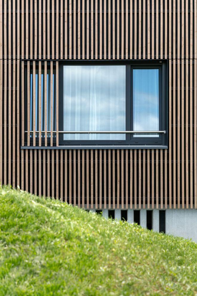 Mitarbeiter-Campus Europa-Park - Holzfassade