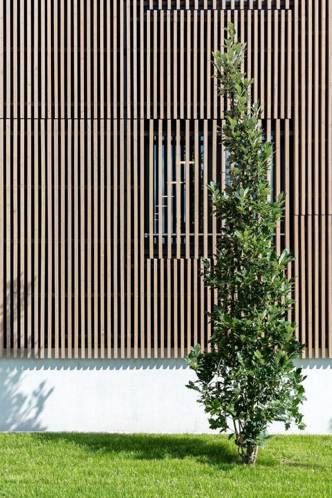 Mitarbeiter-Campus Europa-Park - nachhaltige Holzfassade