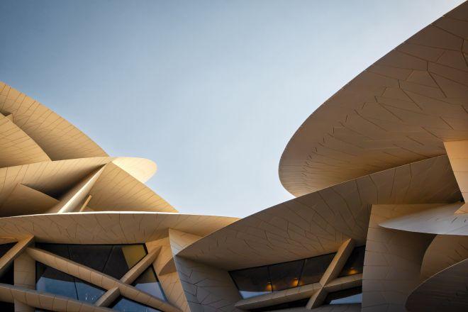 National Museum of Qatar - Fassade