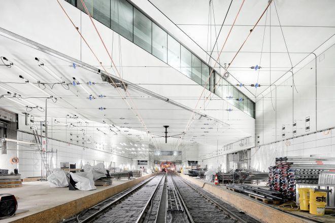 Stadtbahntunnel Karlsruhe - Haltestelle Kronenplatz