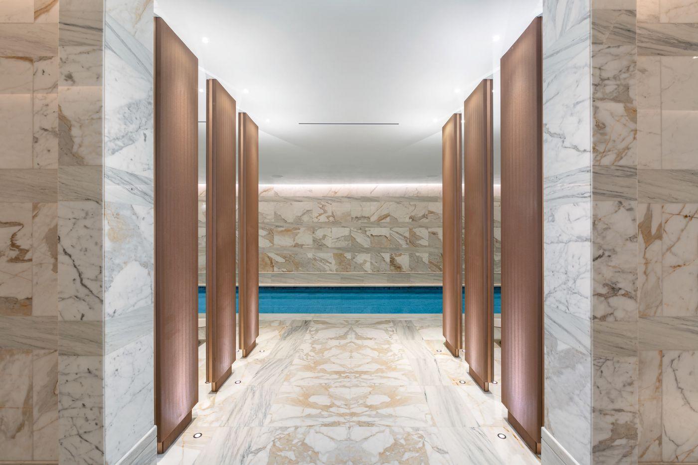 Mandarin Oriental Hotel - Spa Pool